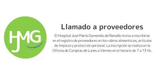 Registro de Proveedores – Hospital José María Gomendio